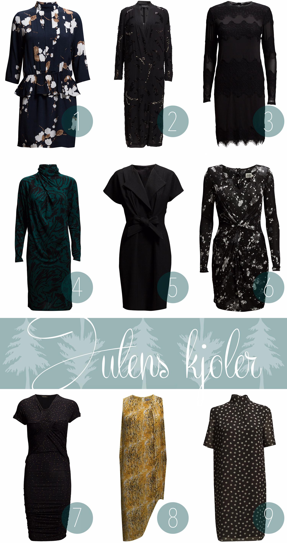 Julens kjoler
