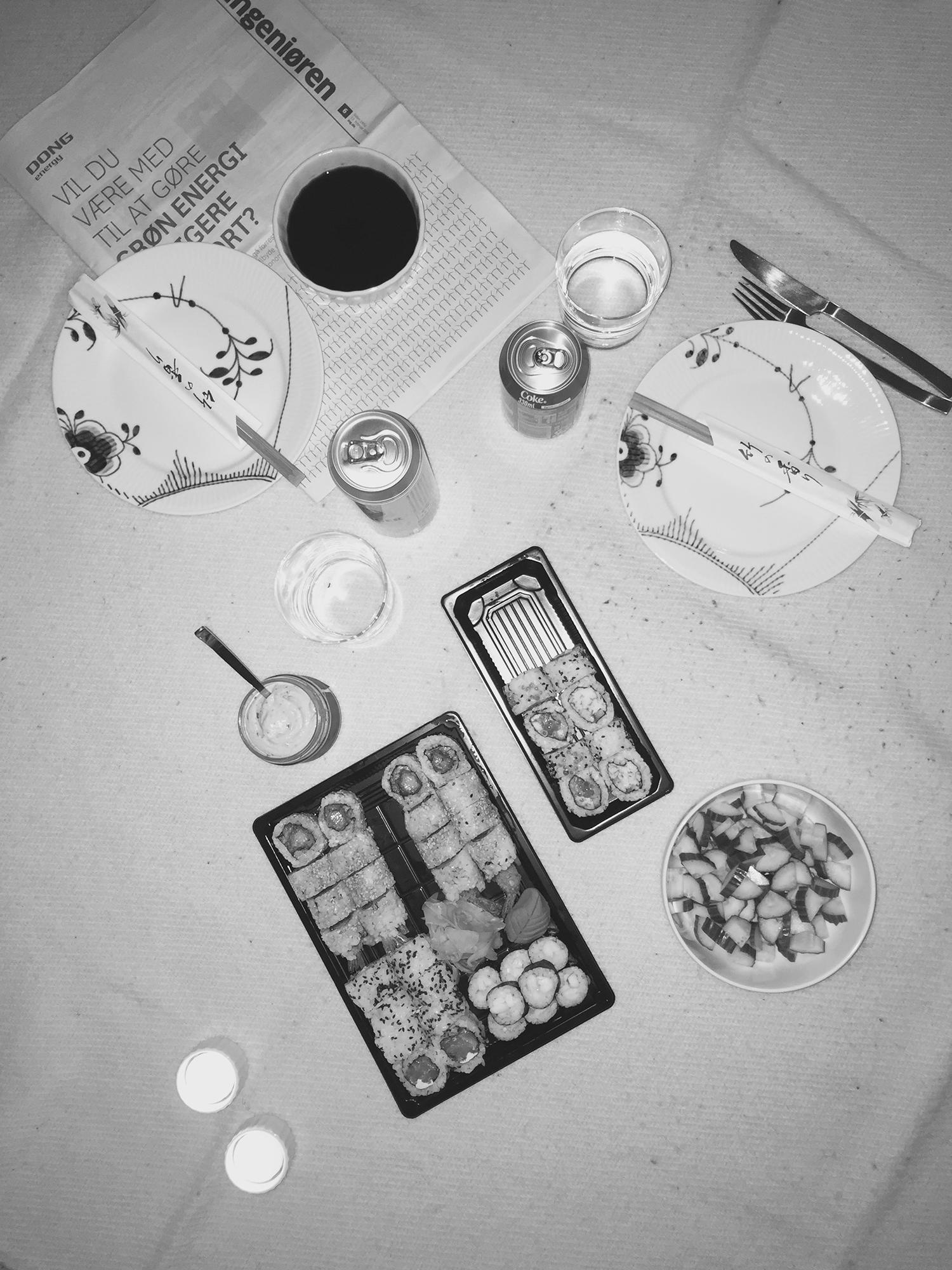Husejere og sushi