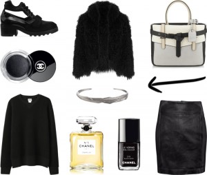 Chanel and fur