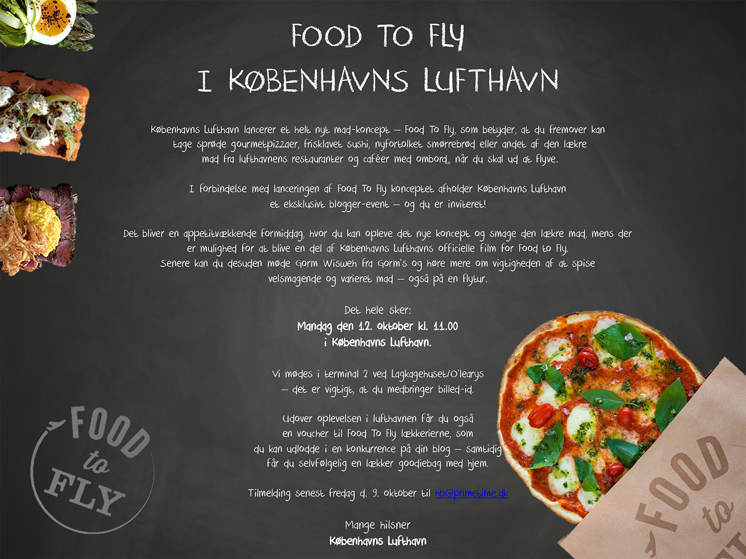 Food to fly